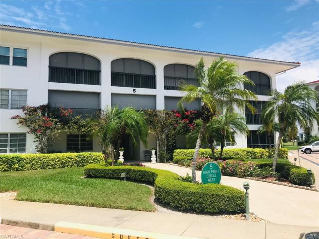 5 High Point Cir W #103, Naples, FL 34103 (MLS #219034275) :: The Naples Beach And Homes Team/MVP Realty