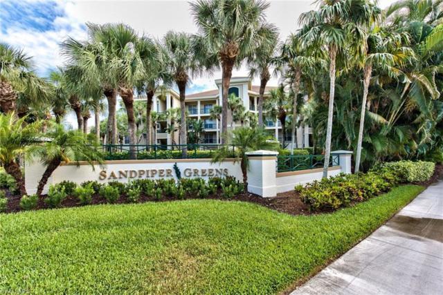 25161 Sandpiper Greens Ct #103, Bonita Springs, FL 34134 (MLS #219035409) :: #1 Real Estate Services