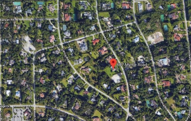607 Myrtle Rd, Naples, FL 34108 (MLS #219036638) :: Clausen Properties, Inc.