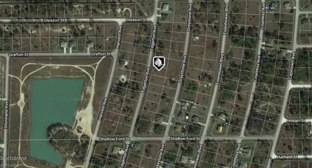 1099 Edgerton Ave, Lehigh Acres, FL 33974 (MLS #219067607) :: Palm Paradise Real Estate