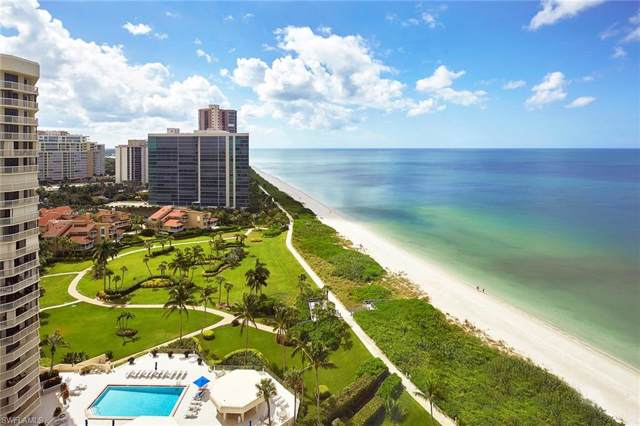 4951 Gulf Shore Blvd N #1501, Naples, FL 34103 (#219067916) :: The Dellatorè Real Estate Group