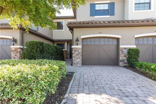 8756 Bellano Ct 1-103, Naples, FL 34119 (#219074144) :: The Dellatorè Real Estate Group