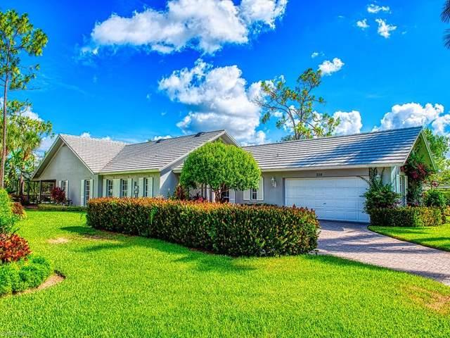 228 Edgemere Way S, Naples, FL 34105 (#219081260) :: The Dellatorè Real Estate Group