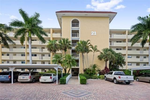 21 High Point Cir E #506, Naples, FL 34103 (MLS #220007102) :: Clausen Properties, Inc.