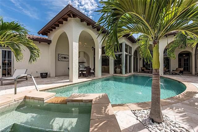 1351 Noble Heron Way, Naples, FL 34105 (MLS #220010203) :: Sand Dollar Group