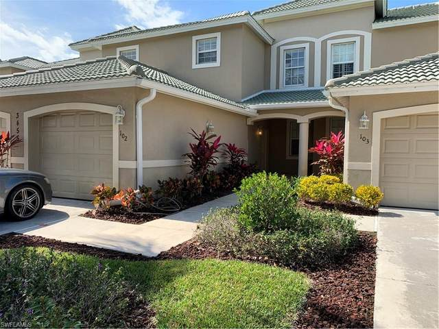 3455 Laurel Greens Ln S #102, Naples, FL 34119 (MLS #220011560) :: Kris Asquith's Diamond Coastal Group