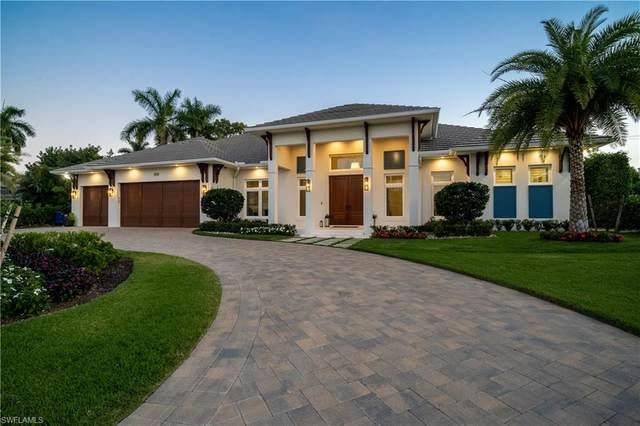 680 Wedge Dr, Naples, FL 34103 (MLS #220013242) :: #1 Real Estate Services