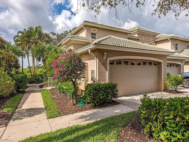 3595 Laurel Greens Ln N #201, Naples, FL 34119 (MLS #220014017) :: Kris Asquith's Diamond Coastal Group