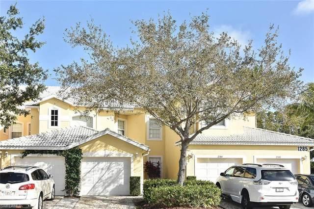 1285 Sweetwater Cv #2107, Naples, FL 34110 (MLS #220014302) :: Eric Grainger | NextHome Advisors
