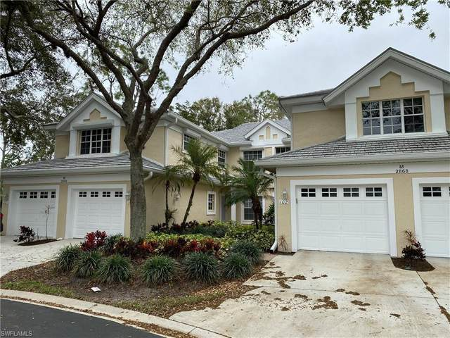 2868 Aintree Ln M201, Naples, FL 34112 (MLS #220014881) :: Kris Asquith's Diamond Coastal Group