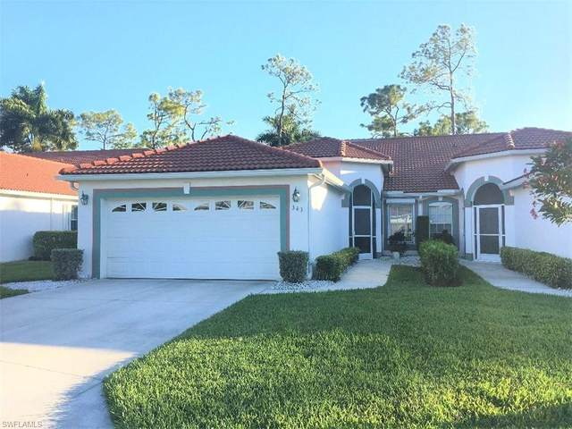 343 Melrose Pl #20, Naples, FL 34104 (#220016670) :: The Dellatorè Real Estate Group