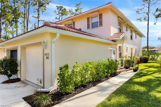 480 Robin Hood Cir #202, Naples, FL 34104 (MLS #220021318) :: #1 Real Estate Services