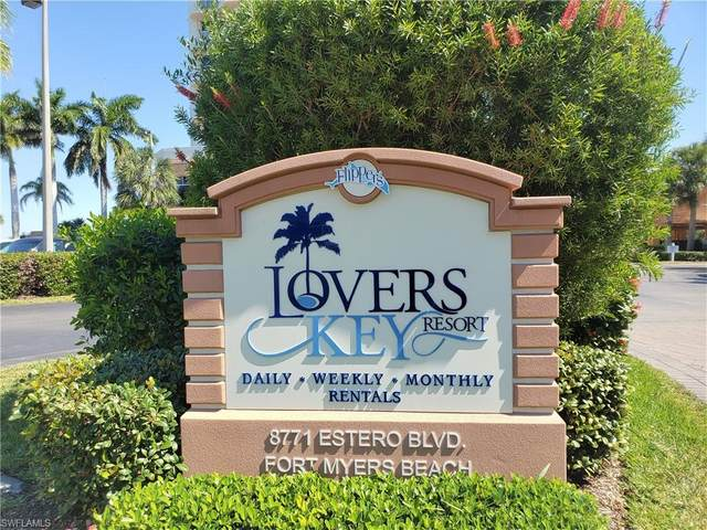 8771 Estero Blvd #405, Bonita Springs, FL 33931 (MLS #220022792) :: The Keller Group