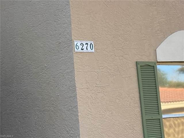 6270 Huntington Lakes Cir #103, Naples, FL 34119 (MLS #220022844) :: The Keller Group