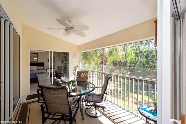 833 Carrick Bend Cir #203, Naples, FL 34110 (MLS #220023889) :: #1 Real Estate Services