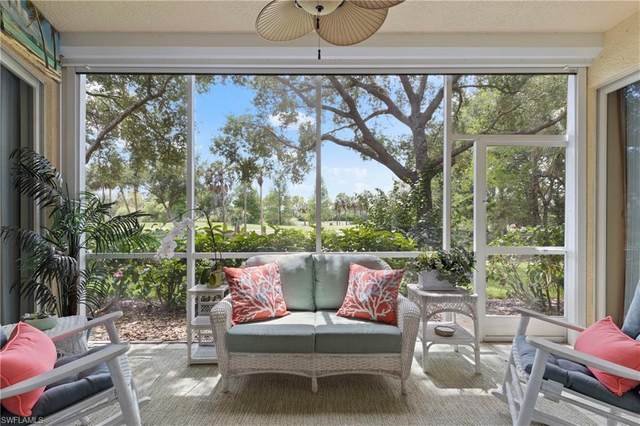 3575 Laurel Greens Ln N #103, Naples, FL 34119 (MLS #220031410) :: #1 Real Estate Services