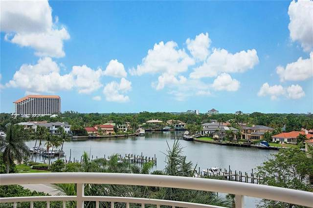 4501 Gulf Shore Blvd N #605, Naples, FL 34103 (MLS #220031575) :: #1 Real Estate Services