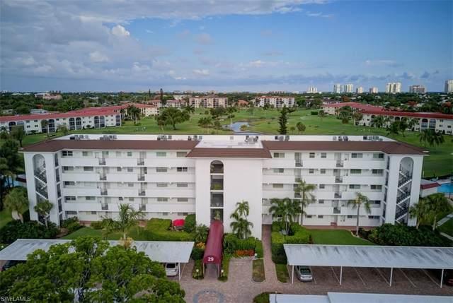 29 High Point Cir E #305, Naples, FL 34103 (MLS #220033274) :: #1 Real Estate Services