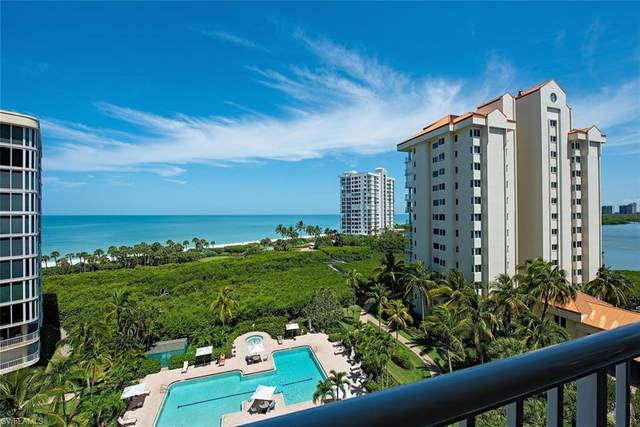 40 Seagate Dr #603, Naples, FL 34103 (MLS #220033357) :: Team Swanbeck