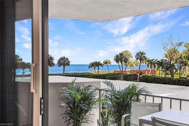 4005 Gulf Shore Blvd N #103, Naples, FL 34103 (#220034351) :: The Dellatorè Real Estate Group