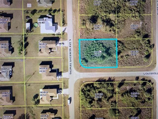525 Thomas Sherwin Ave S, Lehigh Acres, FL 33974 (MLS #220035576) :: #1 Real Estate Services