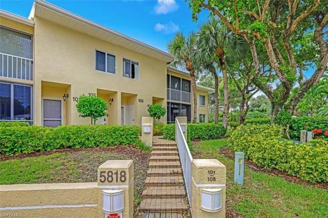 5818 Glencove Dr #102, Naples, FL 34108 (MLS #220039162) :: The Naples Beach And Homes Team/MVP Realty