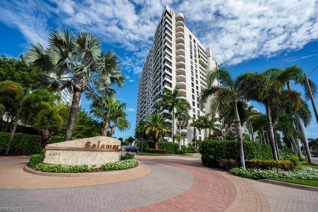 4451 Gulf Shore Blvd N #803, Naples, FL 34103 (MLS #220042605) :: The Naples Beach And Homes Team/MVP Realty