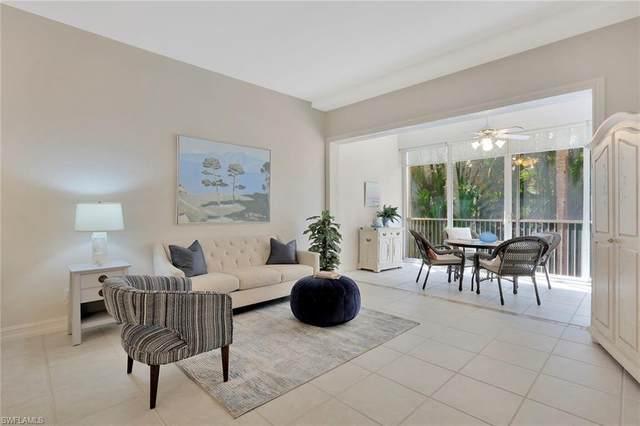 710 Bentwater Cir 2-102, Naples, FL 34108 (#220046021) :: Vincent Napoleon Luxury Real Estate