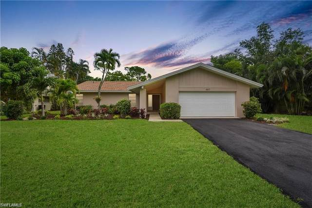 687 Cypress Way E, Naples, FL 34110 (#220048310) :: Equity Realty