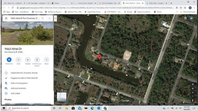 9463 Athel Dr, Port Charlotte, FL 33981 (MLS #220049143) :: Eric Grainger | NextHome Advisors
