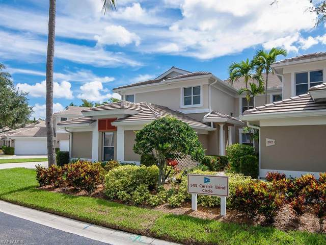 945 Carrick Bend Cir #201, Naples, FL 34110 (#220052678) :: Equity Realty