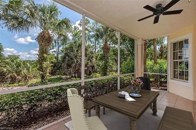 12858 Carrington Cir 8-104, Naples, FL 34105 (#220054959) :: The Dellatorè Real Estate Group