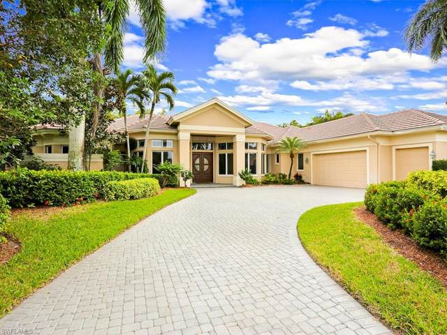 15310 Burnaby Dr, Naples, FL 34110 (#220055980) :: Equity Realty