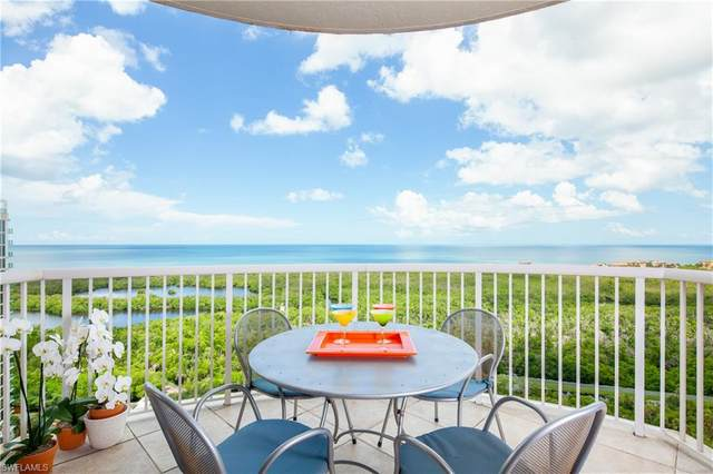 7117 Pelican Bay Blvd #1902, Naples, FL 34108 (#220057252) :: The Dellatorè Real Estate Group