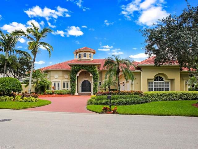 446 Terracina Ln, Naples, FL 34119 (MLS #220057696) :: Palm Paradise Real Estate
