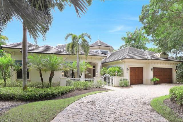 610 Springline Dr, Naples, FL 34102 (MLS #220058174) :: The Naples Beach And Homes Team/MVP Realty