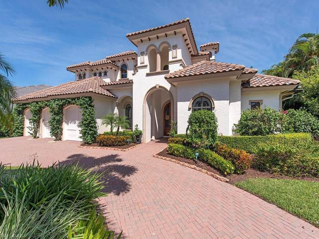 545 Putter Point Pl, Naples, FL 34103 (MLS #220060809) :: Clausen Properties, Inc.