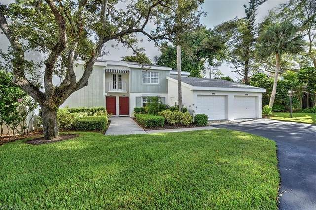 4768 West Blvd E-101, Naples, FL 34103 (MLS #220064546) :: Domain Realty