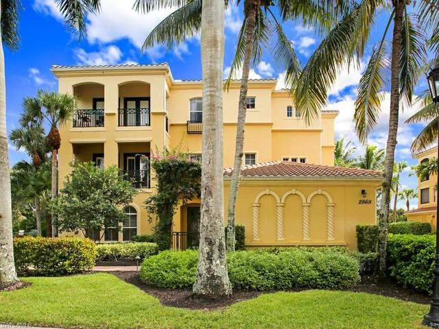 2868 Tiburon Blvd E #103, Naples, FL 34109 (MLS #220068536) :: Domain Realty