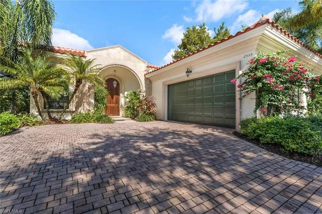 2555 Avila Ln, Naples, FL 34105 (MLS #220072447) :: The Naples Beach And Homes Team/MVP Realty