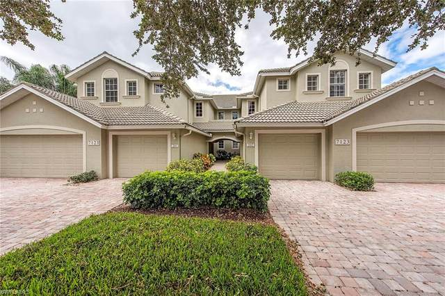 7123 Blue Juniper Ct #201, Naples, FL 34109 (MLS #220075327) :: Kris Asquith's Diamond Coastal Group