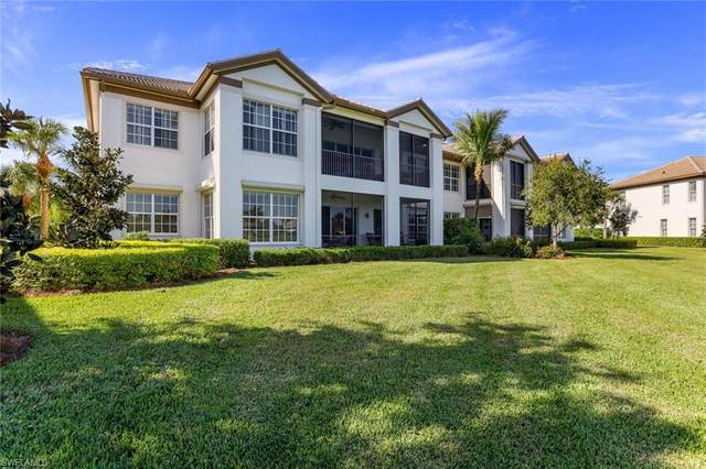 8039 Players Cove Dr #102, Naples, FL 34113 (MLS #220076175) :: #1 Real Estate Services