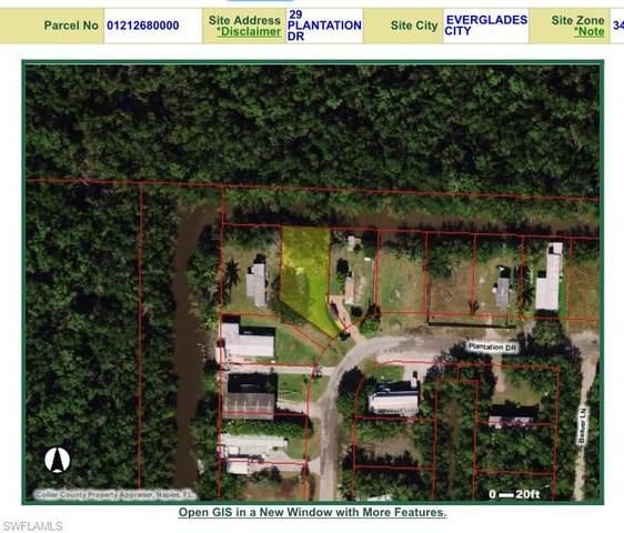 29 Plantation Dr, Everglades City, FL 34139 (MLS #221003008) :: Clausen Properties, Inc.