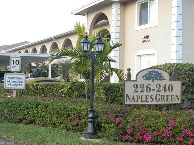 240 Pebble Beach Blvd #701, Naples, FL 34113 (MLS #221004342) :: Domain Realty