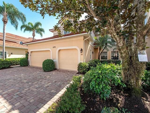 6190 Reserve Cir #301, Naples, FL 34119 (MLS #221004348) :: Domain Realty