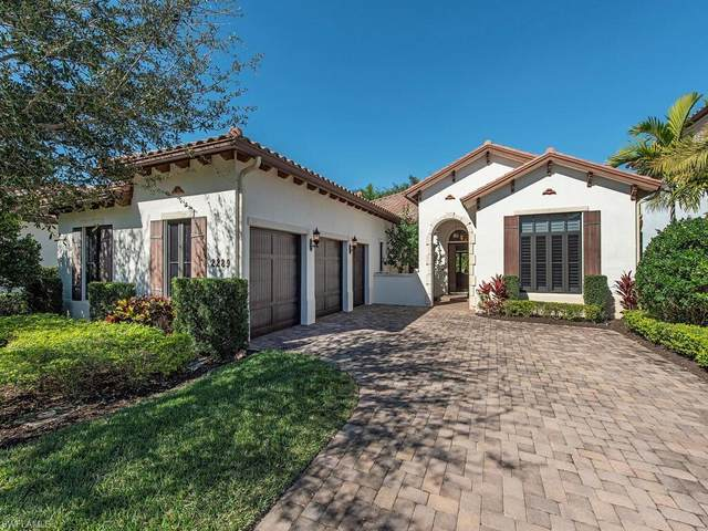 2289 Residence Cir, Naples, FL 34105 (MLS #221008931) :: BonitaFLProperties