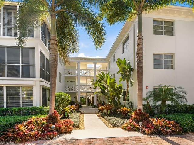 280 2nd Ave S #105, Naples, FL 34102 (MLS #221011528) :: Kris Asquith's Diamond Coastal Group