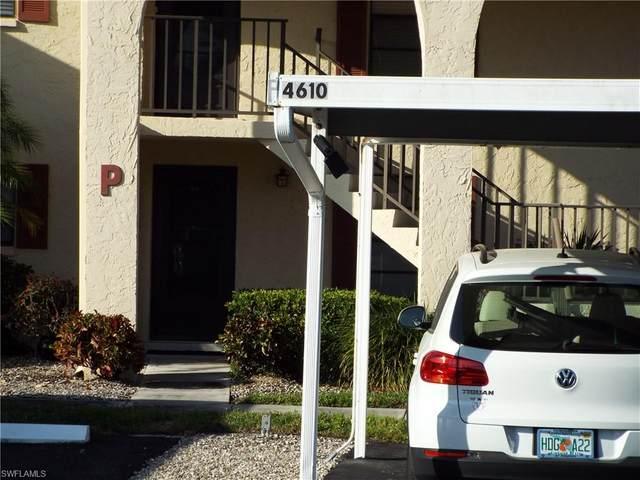 4610 Chantelle Dr P103, Naples, FL 34112 (MLS #221012361) :: Realty Group Of Southwest Florida