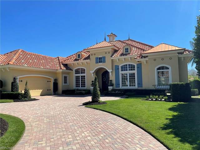 15294 Burnaby Dr, Naples, FL 34110 (MLS #221014804) :: #1 Real Estate Services