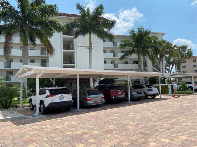 1 High Point Cir Cir E #506, Naples, FL 34103 (MLS #221025006) :: Waterfront Realty Group, INC.